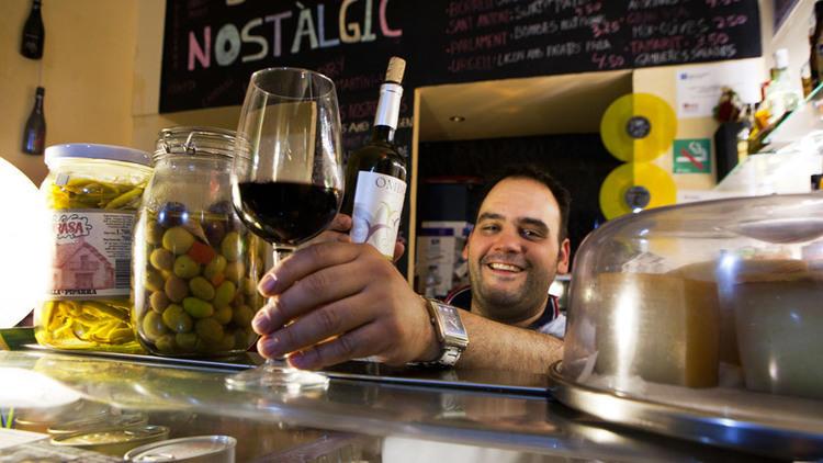 Toni Varon and wine
