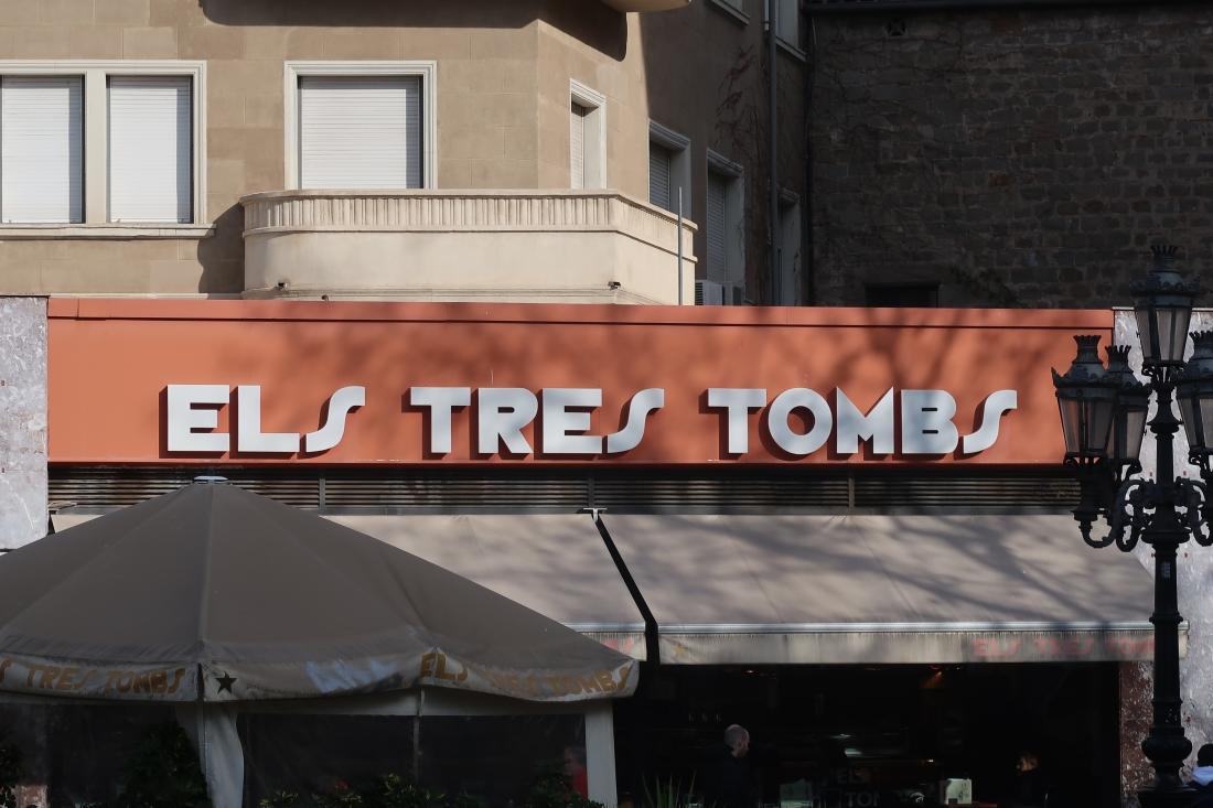 Els Tres Tombs 2, Ronda de San Antoni, Barcelona