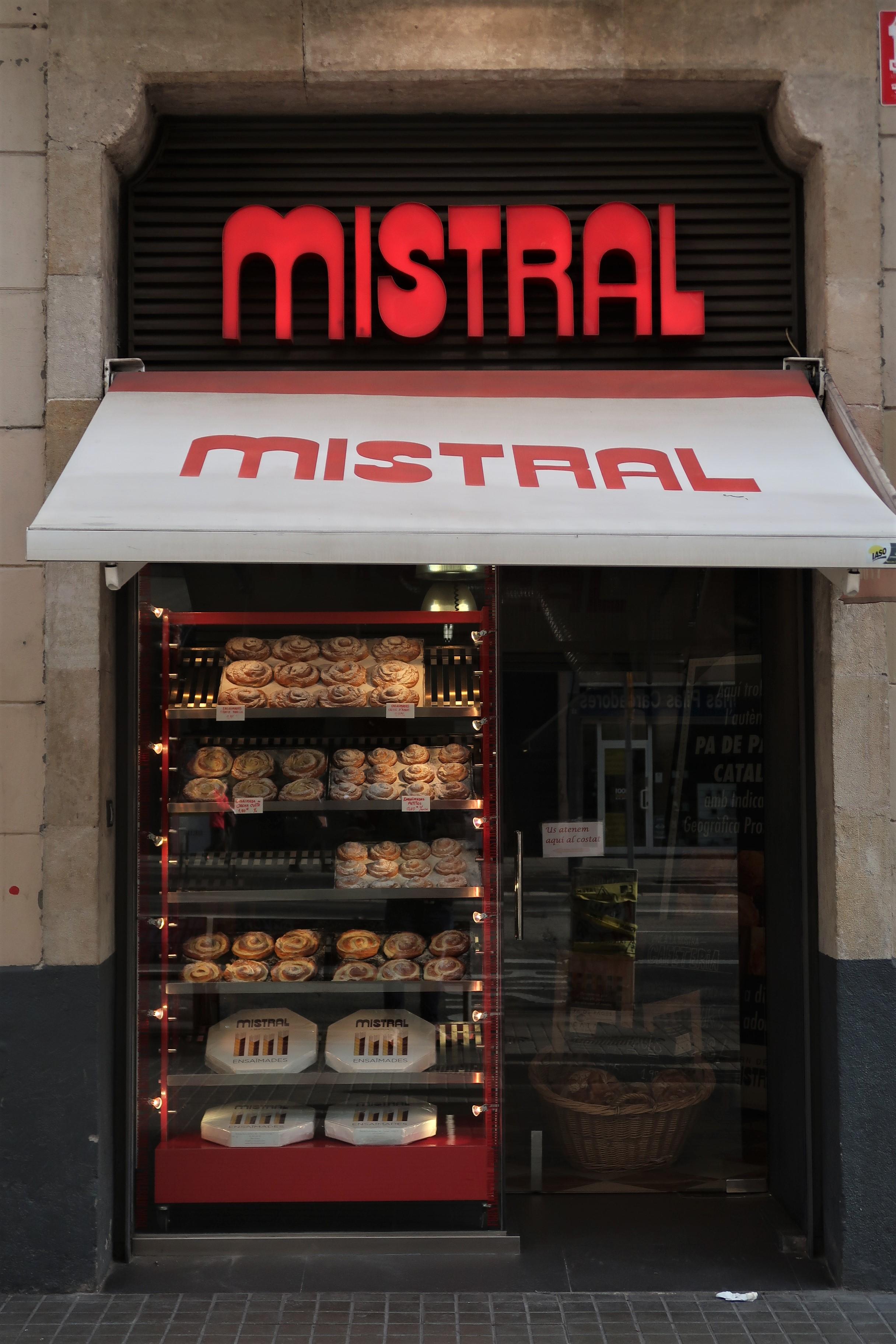 Mistral Bakery, Ronda de San Antoni, Barcelona
