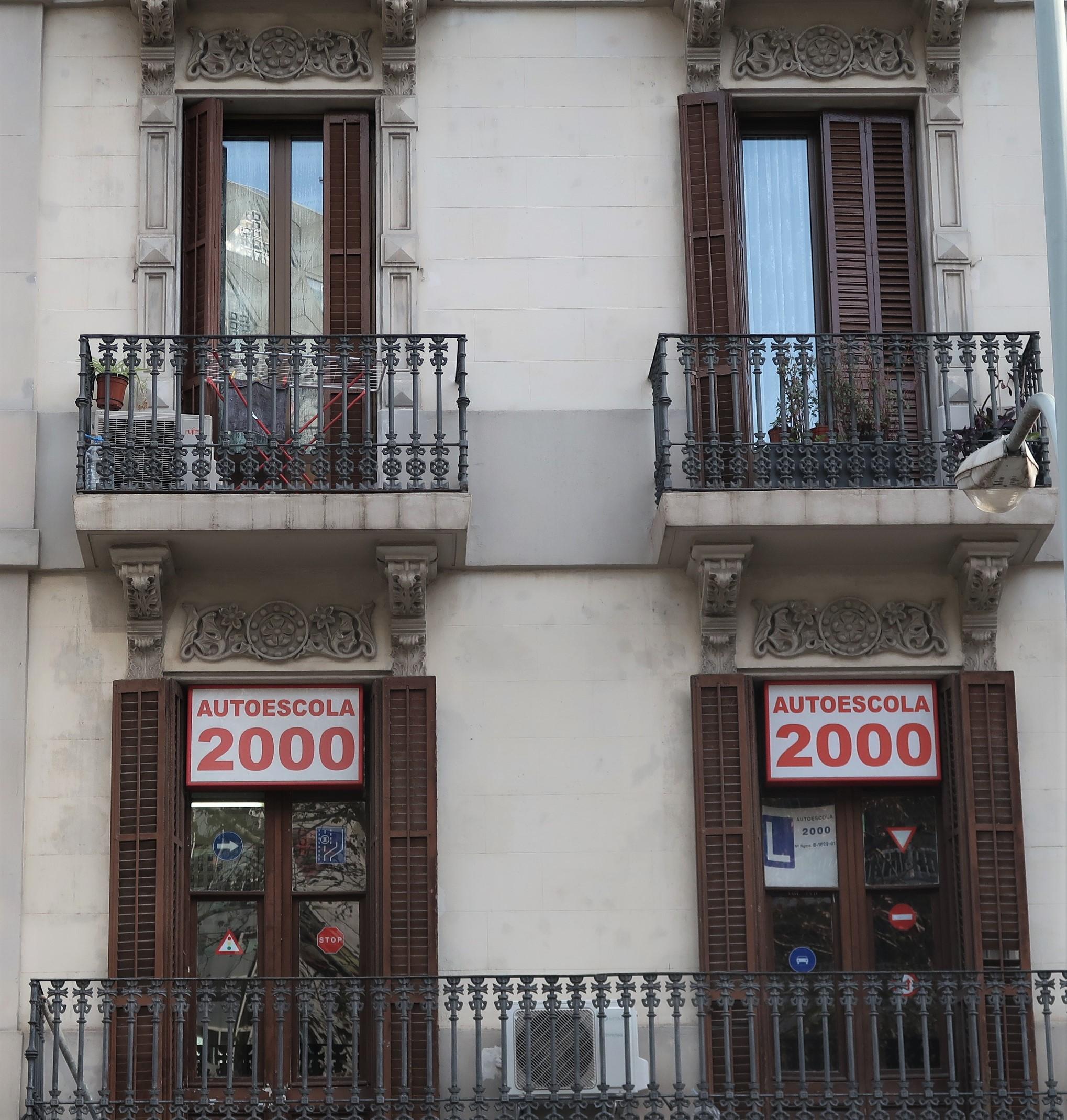 Motor School, Ronda de San Antoni, Barcelona