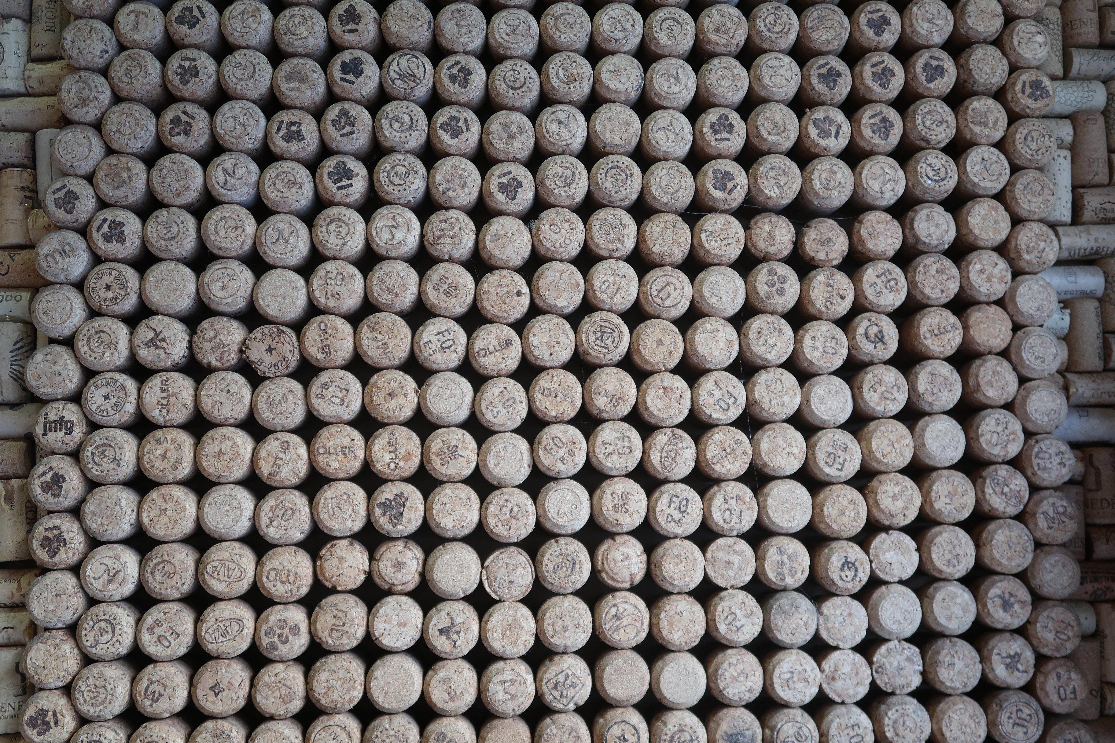 Wine bottle corks, Celler de Ronda, Barcelona
