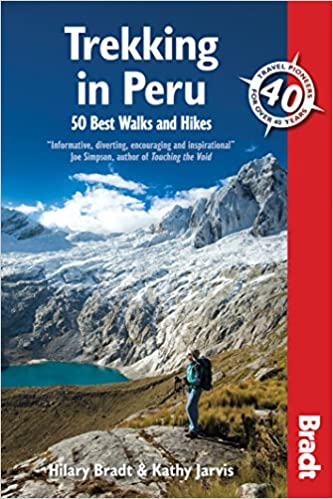 Bradt, Trekking in Peru guidebook