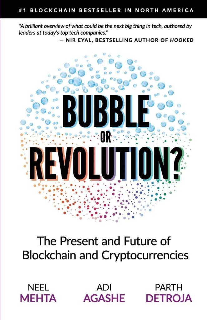 Cover of Blockchain, Bubble or Revolution book