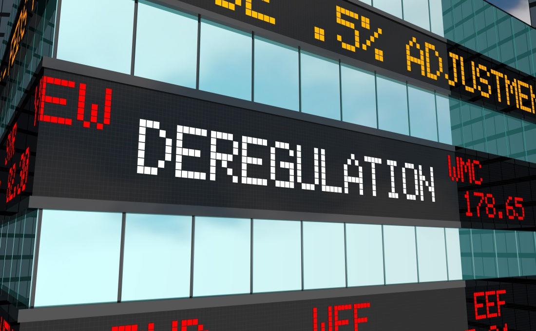 Deregulation of energy